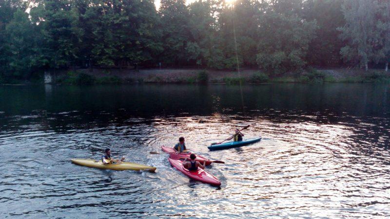 Fare un corso di canoa a Torino