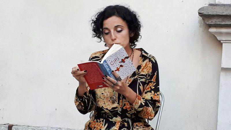 Enrica Tesio legge Cipì al Salone Off