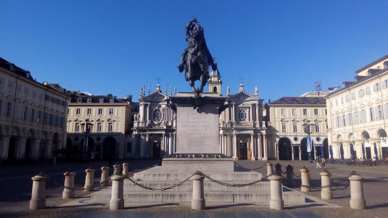Piazza San Carlo a Torino, tra le cose da vedere a Torino in un weekend