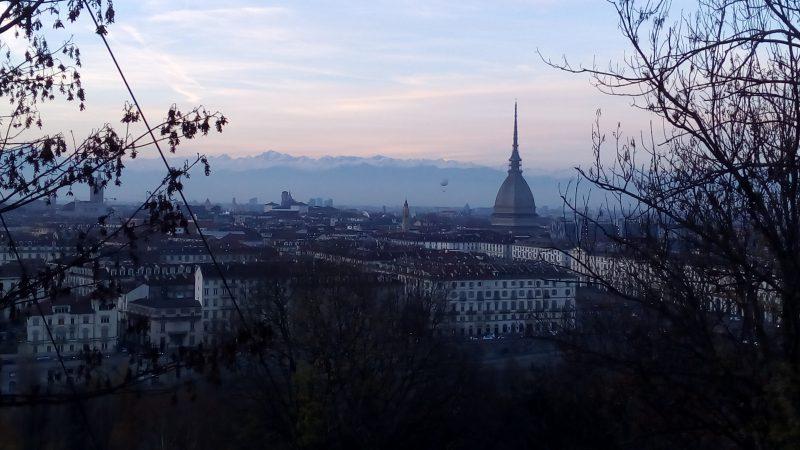 Un buon motivo per trasferirsi a Torino, il belvedere del monte dei Cappuccini