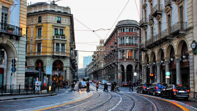 Strisce pedonali a Torino