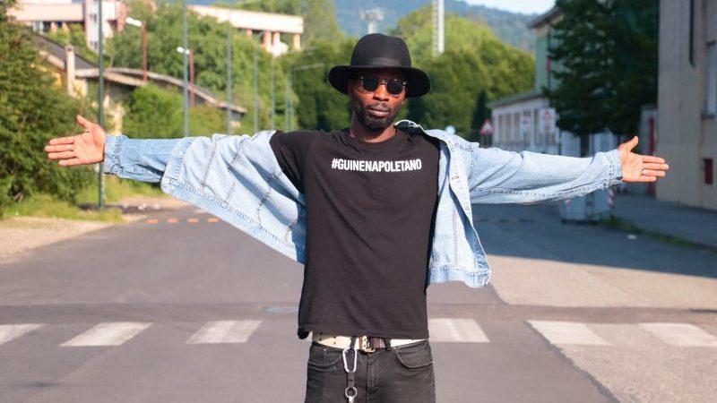Mu So, il rapper di Barriera emblema guinean